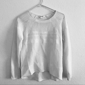 Helmut Lang brand new detail knit sweater